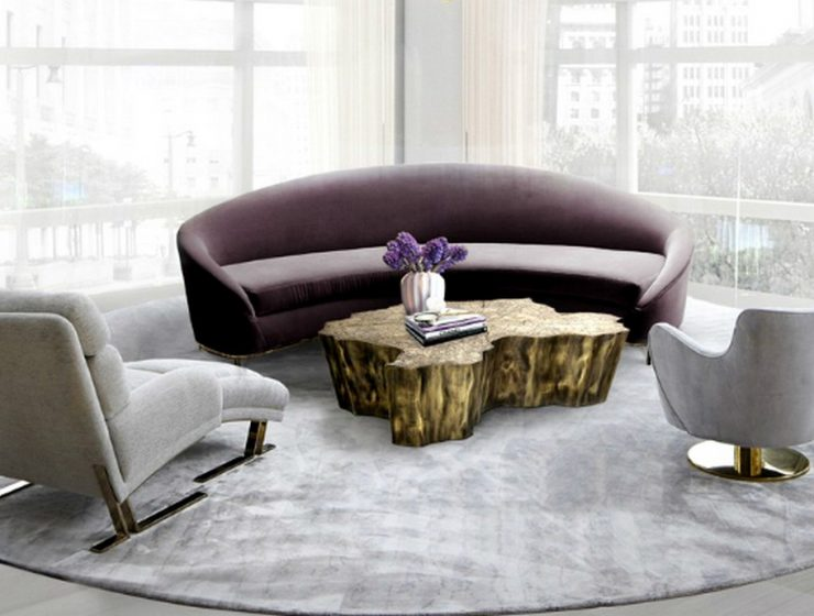 Center Tables Trends For Your Living Room | Covet House has always been at the forefront when it comes tointerior design trends. #centertables #moderncentertables center tables Center Tables Trends For Your Living Room Featured 1 740x560