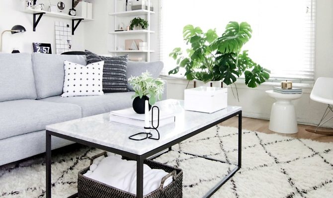 Modern Living With a White Marble Center Table | If you're a lover of minimalist designs, then this is a great inspiration for you! #interiordesign #centertable #homedecor #minimalistdesign Marble Center Table Modern Living With a White Marble Center Table featured 12 670x400  Home Page featured 12 670x400