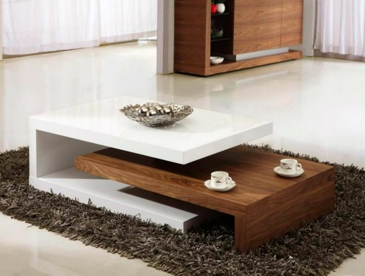 Wooden Coffee Table Center Tables