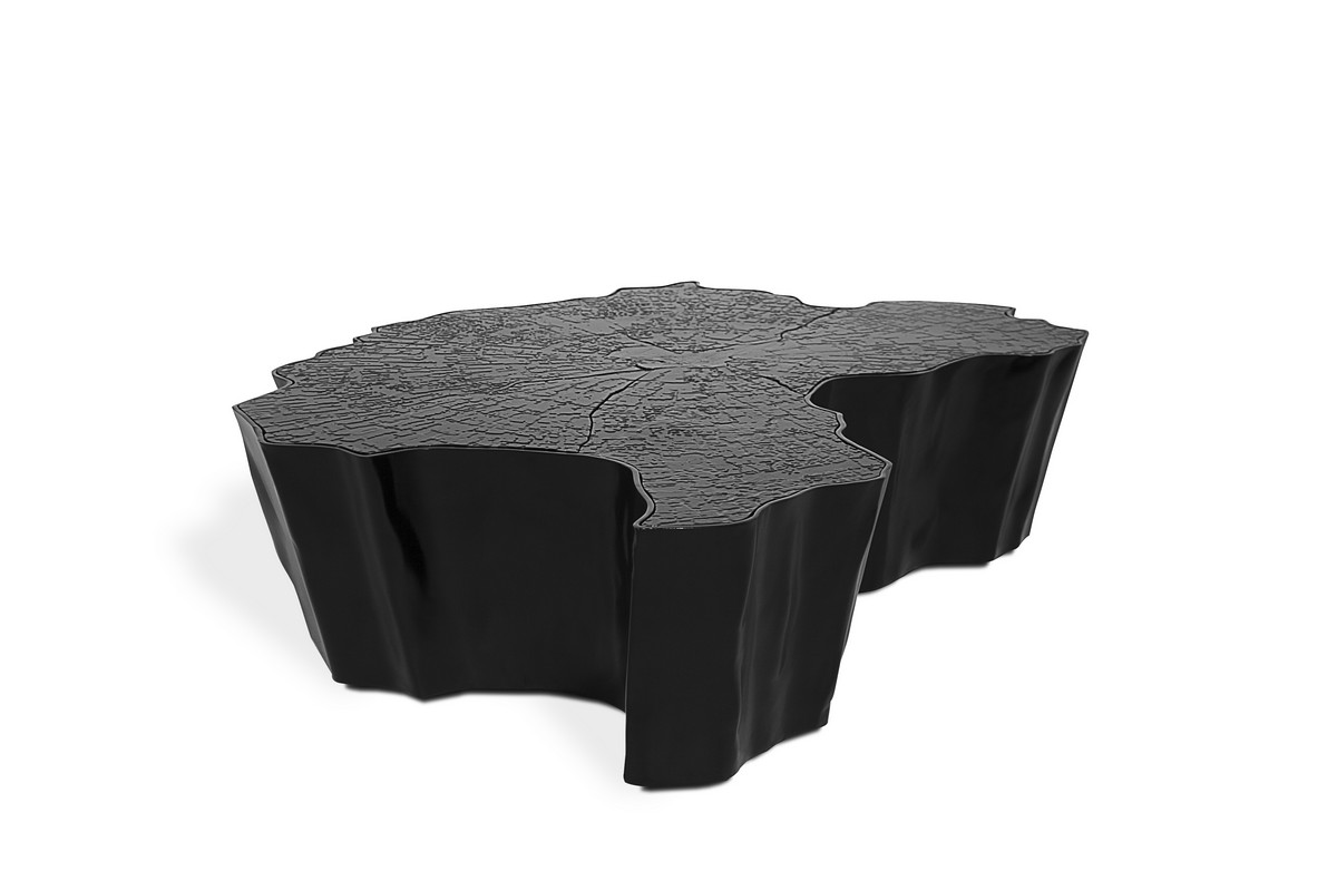 Discover Boca do Lobo's Eden Center Table Collection | They create handcrafted designs made in Portugal by professional artisans. #centertables #homedecor #decoration #centertabledesign #interiordesign Center Table Collection Discover Boca do Lobo's Eden Center Table Collection eden black center table 01 hr