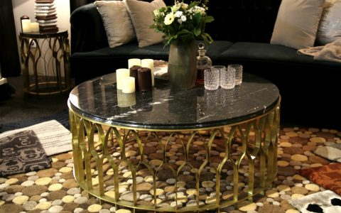Mecca Coffee Table The Piece You Need For Your Home | Rooms have different personalities that you give to them by the decor and pieces you use. #centertables #homeinteriors #interiordesign #homedecor #goldentables Center Table Mecca Center Table: The Piece You Need For Your Home features 480x300