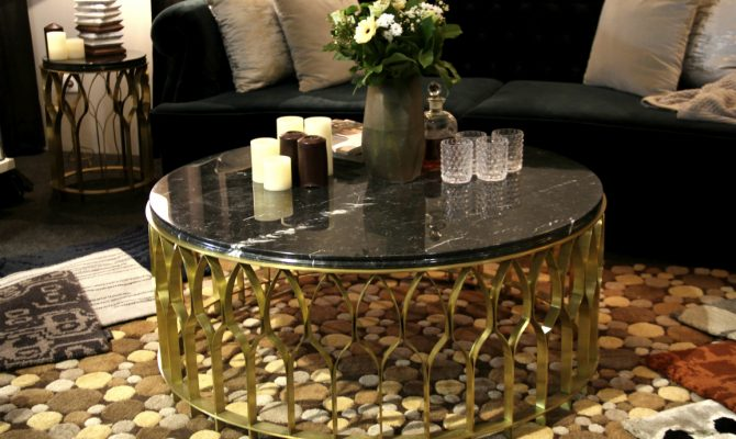 Mecca Coffee Table The Piece You Need For Your Home | Rooms have different personalities that you give to them by the decor and pieces you use. #centertables #homeinteriors #interiordesign #homedecor #goldentables Center Table Mecca Center Table: The Piece You Need For Your Home features 670x400  Home Page features 670x400
