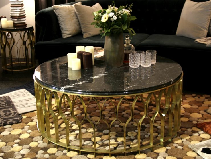 Mecca Coffee Table The Piece You Need For Your Home | Rooms have different personalities that you give to them by the decor and pieces you use. #centertables #homeinteriors #interiordesign #homedecor #goldentables Center Table Mecca Center Table: The Piece You Need For Your Home features 740x560