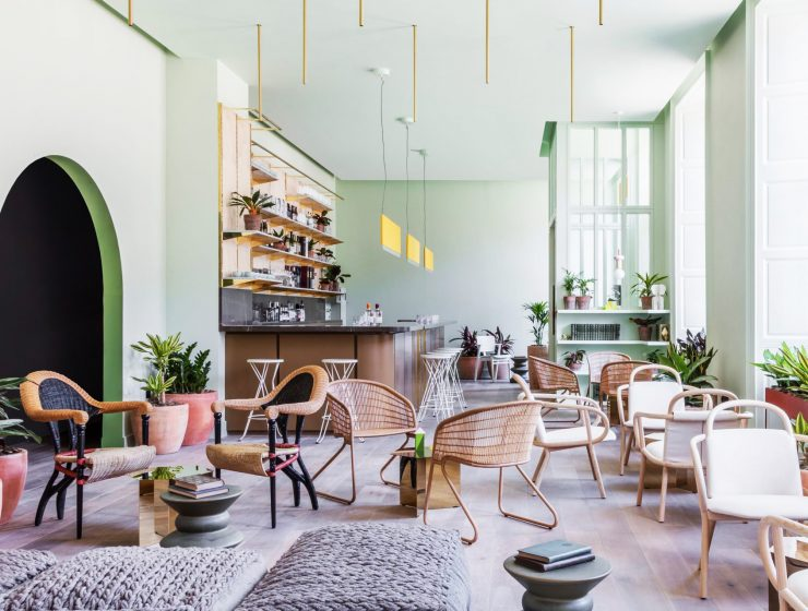 Top 10 Best Hotels of 2017: A Dezeen Selection | Thinking about next years vacation? We show you some awesome locations. #tophotels #hoteldesign #besthotels #luxuryhotels #traveldestinations #centertables best hotels Top 10 Best Hotels of 2017: A Dezeen Selection eden locke hotel grzywinski pons interiors hotels london uk dezeen sq a 1 1704x1704 1 740x560