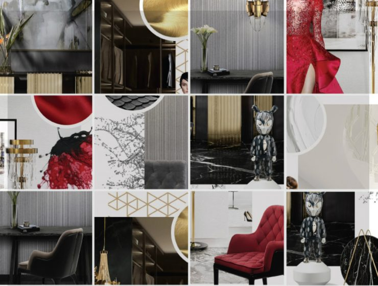 The Trendiest 2018 Colors In The Luxury Design | 2017 is far back, and new trends arrive into the luxury world. Tones this 2018 are based on vibrant colors as red, classic neutrals as black & white and warm golden hues. #interiordesign #colortrends #homeinteriors #designtrends #colordesigns Luxury World The Trendiest 2018 Colors In The Luxury World FEATURED 8 740x560