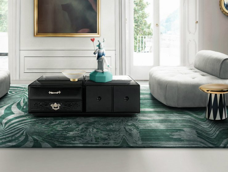Who Wants A Contemporary Living Room? Here's The Soho Coffee Table