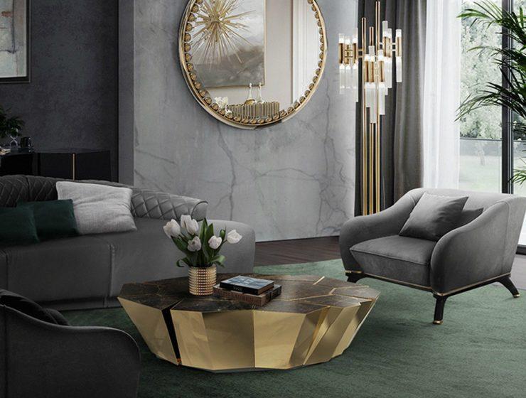 Luxury Living Room Ideas Center Tables